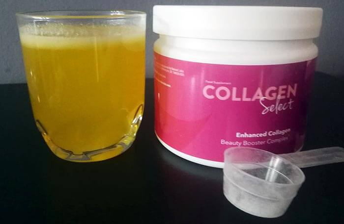 Collagen Select na cerę