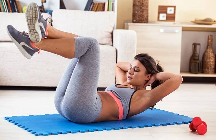 domowy aerobik