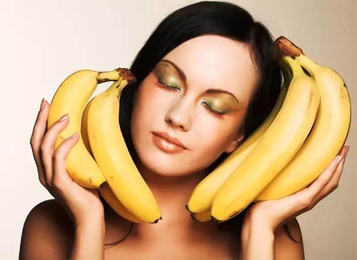 maseczka z bananów