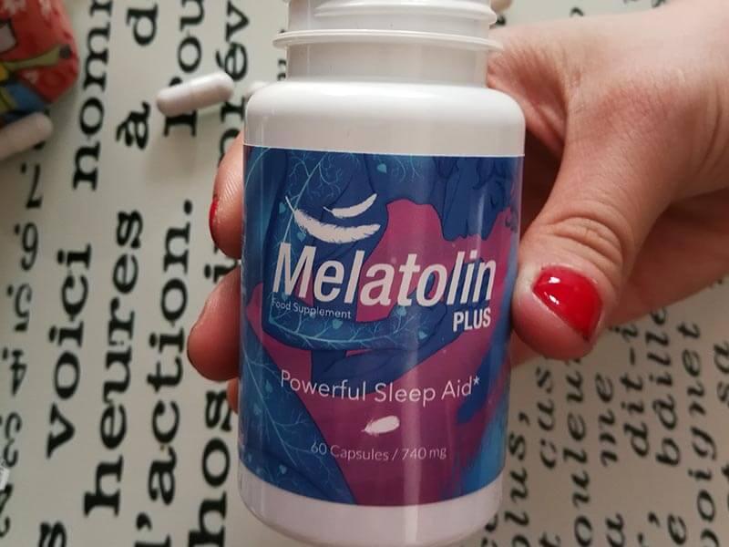 melatolin plus suplement diety