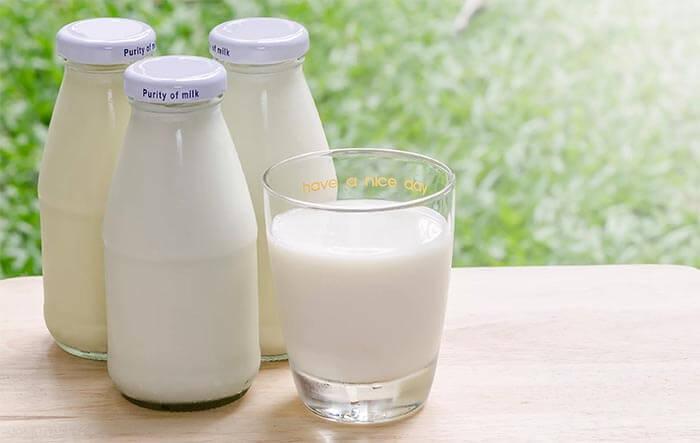 Mleko o niskiej zawartości tłuszczu
