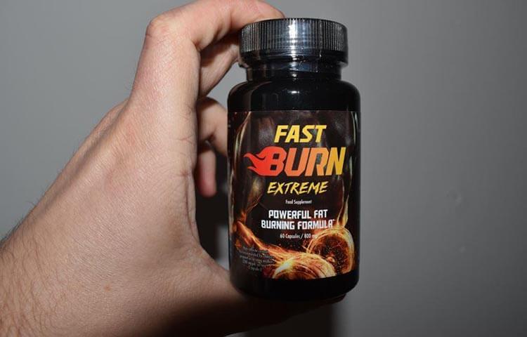 fast burn extreme właściwości
