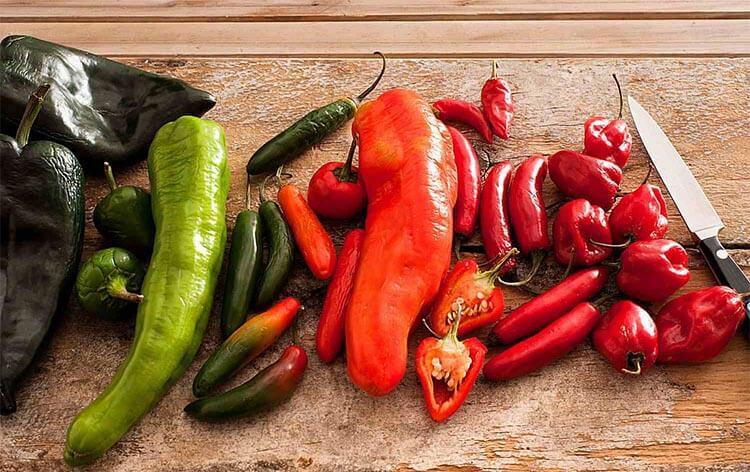 papryczka chili w kuchni